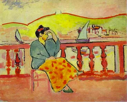 Henri Matisse - Lady on the Terrace