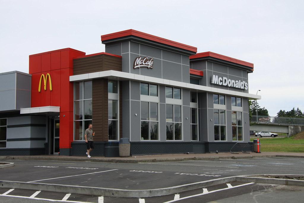 Ronald mcdonald gets a makeover still creepy as fuck for Mcdonalds exterior design