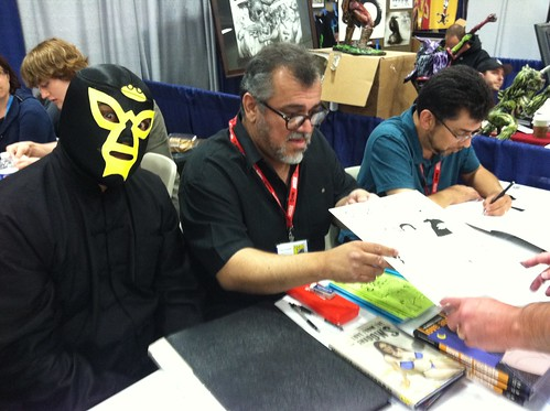 Mario Hernandez at the San Diego Comic-Con 2011