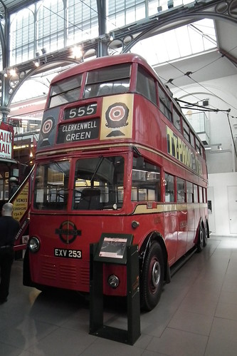 1939 Leyland K2 Class electric trolley bus