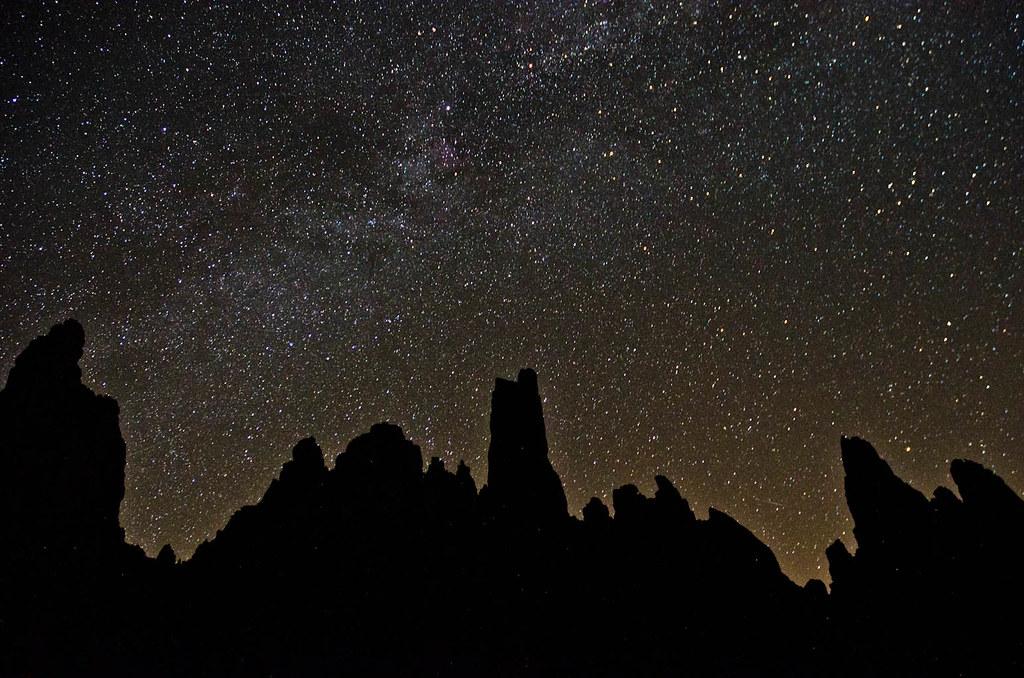 Noche estrellada en los Galayos (Sierra de Gredos )  DSC0779 copia r