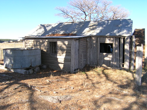 Slab hut, Glenburn Homestead