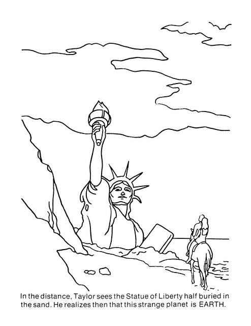 Planet of the Apes Coloring Book 0100065