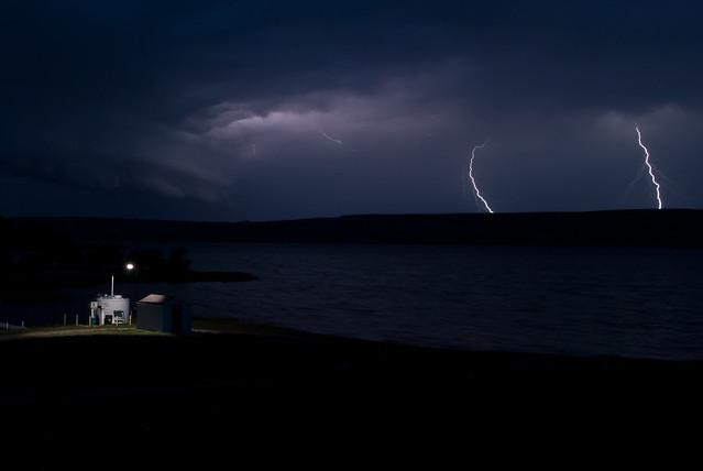 Beaver Flats Lightning Storm