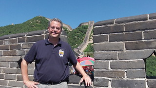 Jess at the Great Wall