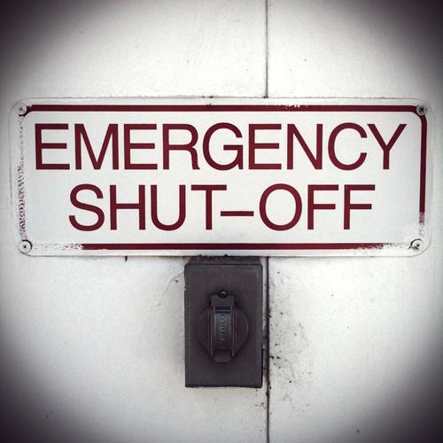 Jul 25, 2011 - EMERGENCY SHUT-OFF