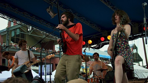 Titus Andronicus at 4Knots Music Festival, 2011