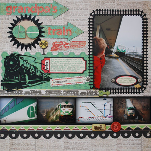 Grandpa's Go Train