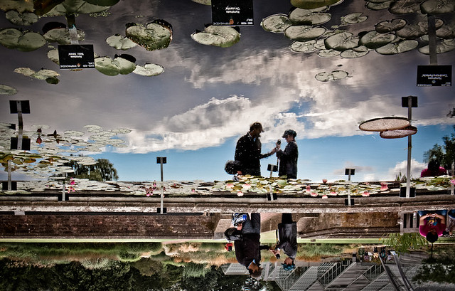 Turn it upside down - Kew Gardens