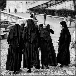 walking nuns