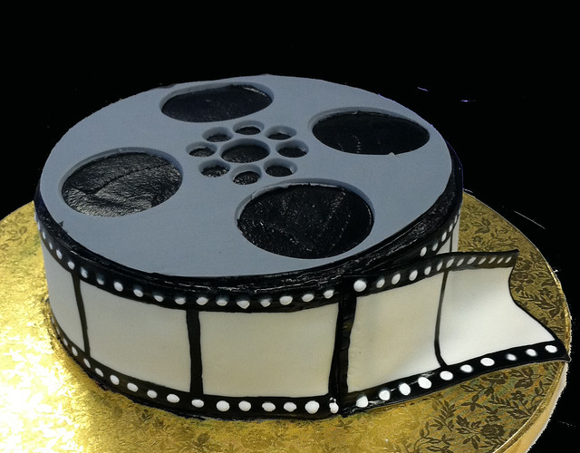 How To Make A Film Reel Cake