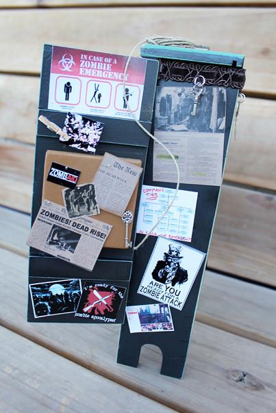 Zombie Survival Closet Curio Cabinet | Flickr - Photo Sharing!