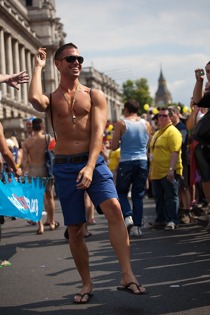 183/365 Gay Pride Parade 2011 London. 02 July 2011