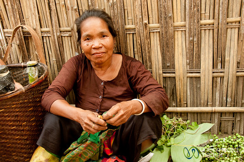Woman Vendor at Market - Bandarban, Bangladesh