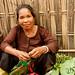 Woman Vendor at Market - Bandarban, Bangladesh