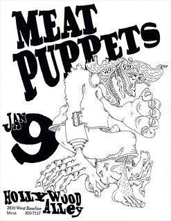 Meat Puppets flyer | by dbostrom