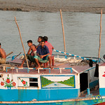 Men On Top of Boat - Khulna, Bangladesh