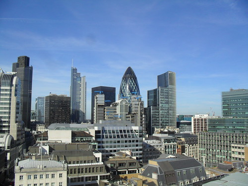 London from The Monument