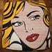 Cookie Art, a la Roy Lichtenstein by TheHungryHippopotamus