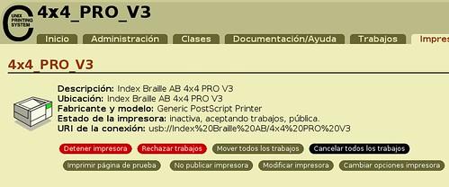 Impresora Braille 8