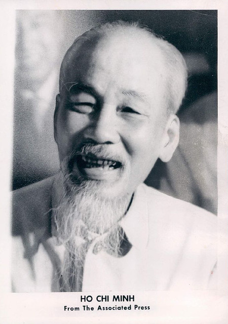 Wire Photo of Vietnam Ho Chi Minh. Photo is dated as Sep 3,1967