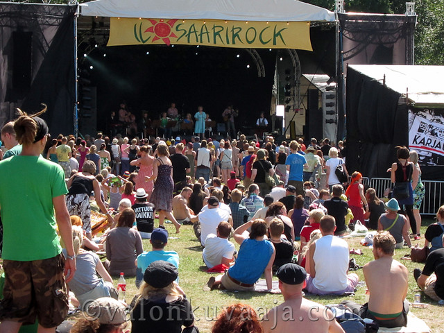 Ilosaarirock 2011 - Yona