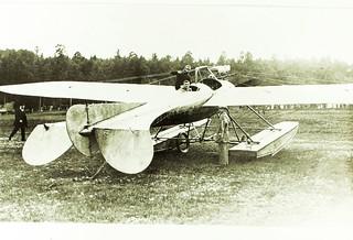 Albatros Racing Monoplane (1913) - Amphibian construction (Ernst Heinkel design)