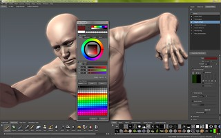 Autodesk - Mudbox - Screenshot - Color - Chooser | by Creative Tools