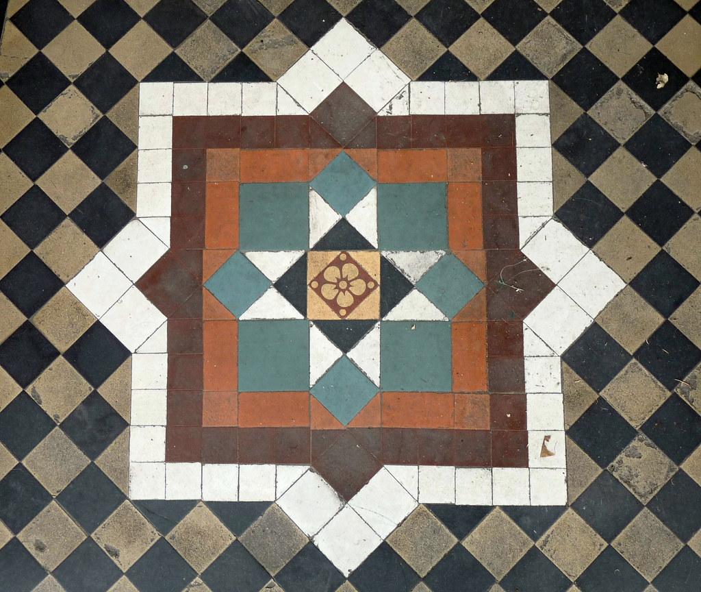 Tivoli tile vinyl floor tiles vinyl floor tiles floor tiles in the entrance to gold crest travel caversham dailygadgetfo Image collections