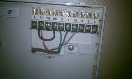 Wiring Diagram Lux Thermostat : Lux dmh thermostat wiring diagram
