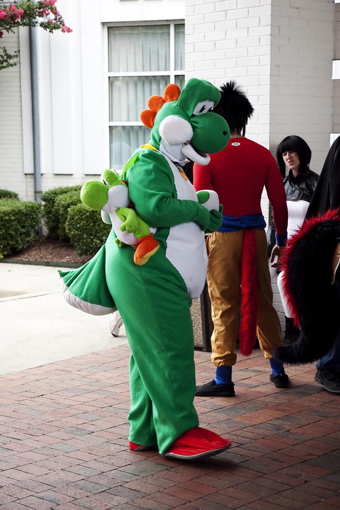 Cosplay Yoshi Taken At Persacon 2011 Huntsville Al Leslie Ann