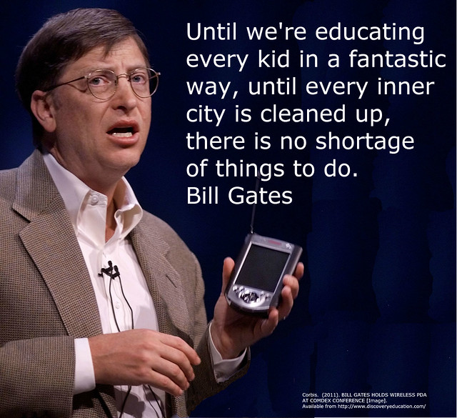 Bill Gates On Education Quotes: Flickr - Photo Sharing