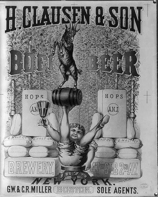 H-Clausen-&-Son-brewery-New-York-bock-beer-1879