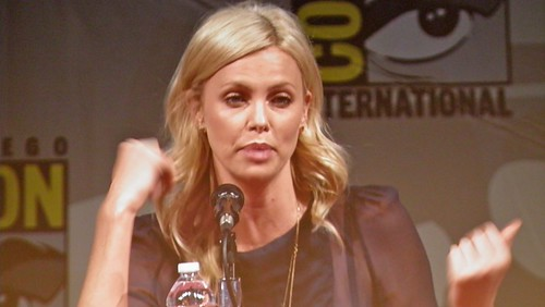 Charlize Theron at Comic Con 2011