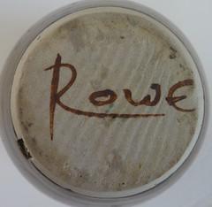 Rowe. Vase. Mark