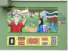 Life on Langside mural