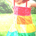 Rainbow Birthday Girl!