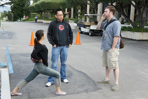 Nikki, Rommel, and David (plus friend)