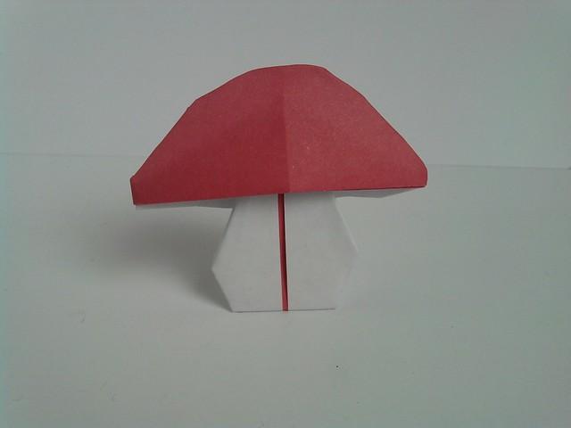 origami mushroom flickr photo sharing