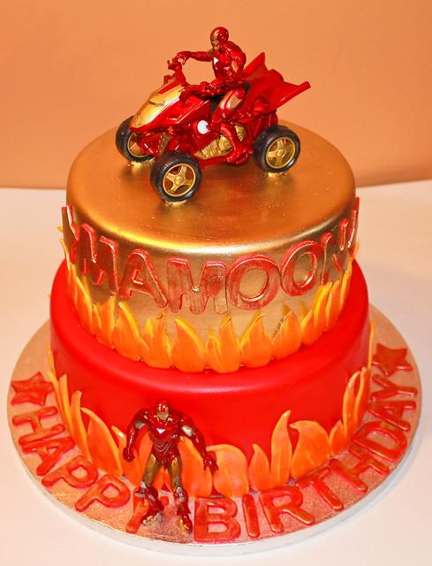 Cake Decorating Iron Man Kudoki for