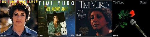 98 Timi Yuro 4 album covers - LP's