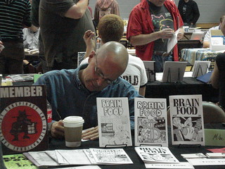 Mike Toft at Zinefest 2011
