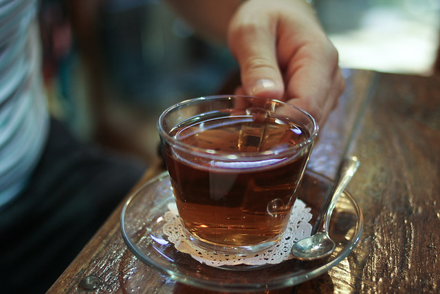 Turkish apple tea.