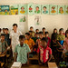 Teacher with Classroom of Young Students - Nalbata, Bangladesh