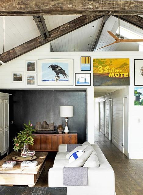 VT Wonen {white rustic industrial vintage modern living room} | Flickr - Photo Sharing!