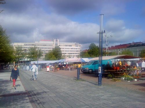 park suomi finland europe lahti marketplace tori cityviews puisto