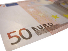 Euro Currency on white backgrouns