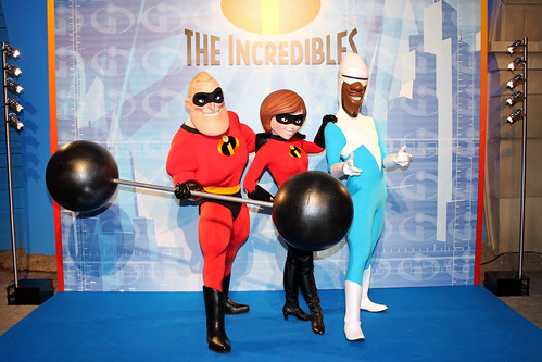 Meeting The Incredibles