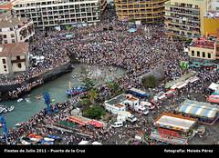 Foto aérea - Fiestas de Julio 2011 - Puerto de la Cruz - 118