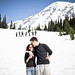 mohini and brian on mt. rainier by mohini :: mangopowergirl.com